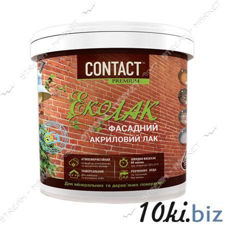 Эко-лак фасадный акриловый Днепр-Контакт глянцевый 1кг купить в Харькове - Лаки