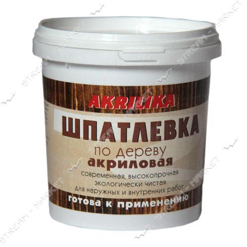 Шпатлевка по дереву АКРИЛИКА 1.7кг