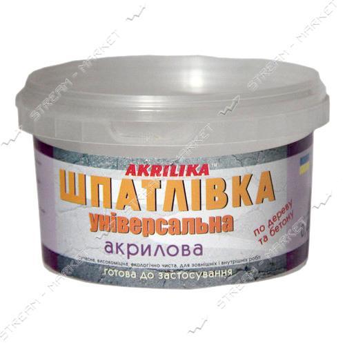 Шпатлевка универсальная АКРИЛИКА 0.4кг Сосна