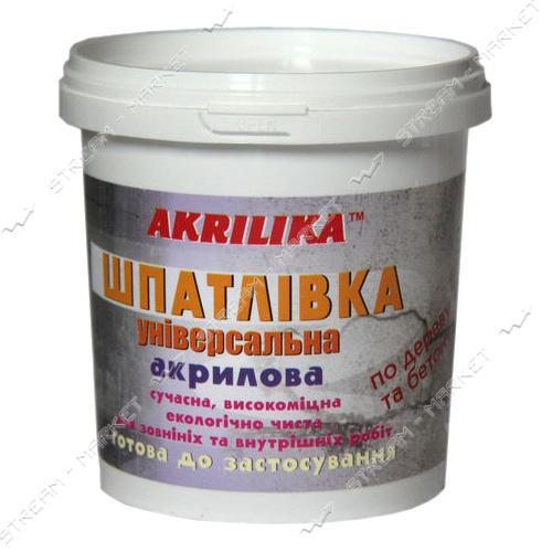 Шпатлевка универсальная АКРИЛИКА 0.8кг Дуб