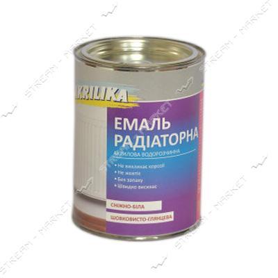 Эмаль для радиаторов отопления Akrilika 0.8л белая