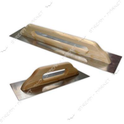 Терка полутер нержавейка (длинная ручка) 480мм