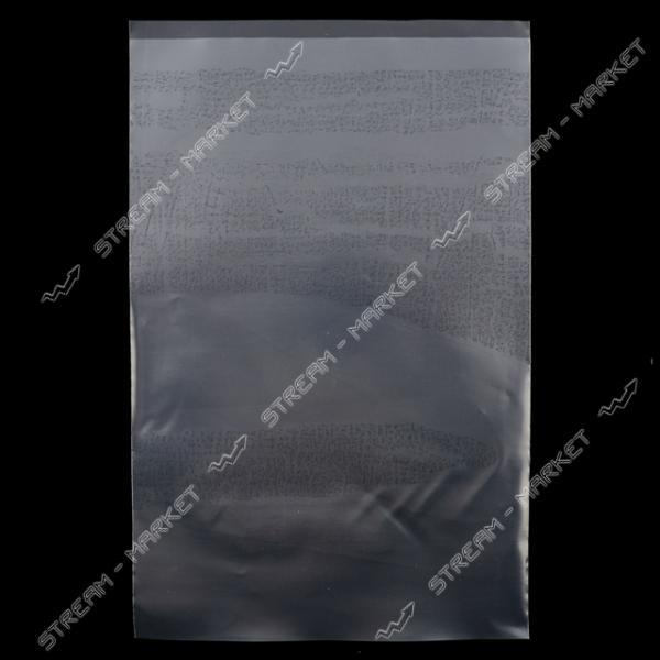Пакет полиэтиленовый 100 микрон 20х31 см