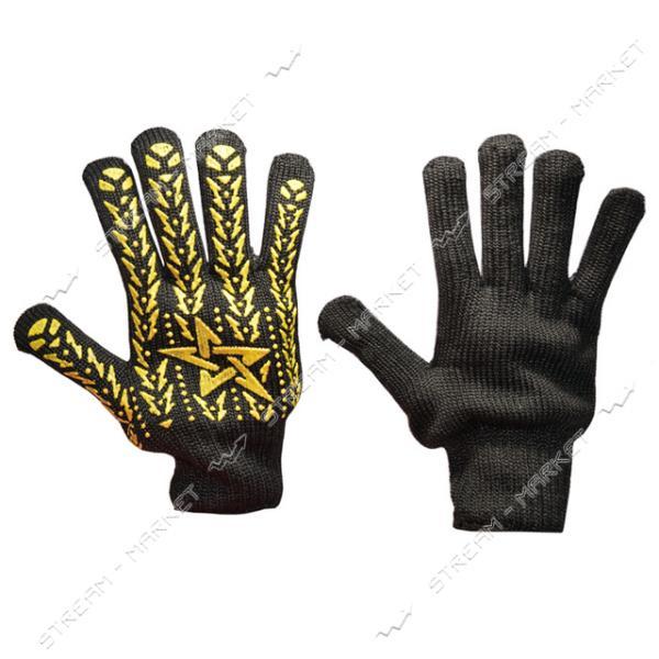 Перчатки рабочие DOLONI арт.4080 Звезда черные