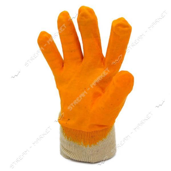 Перчатки рабочие строительные х/б с нитриловым покрытием размер 10