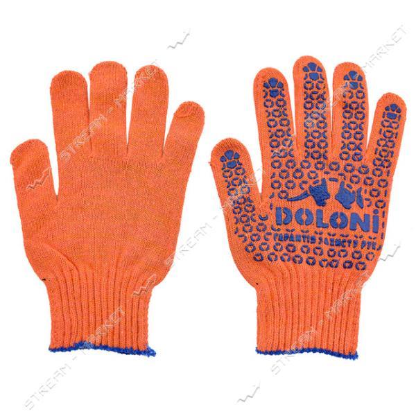 Перчатки рабочие DOLONI арт.526 оранжевые