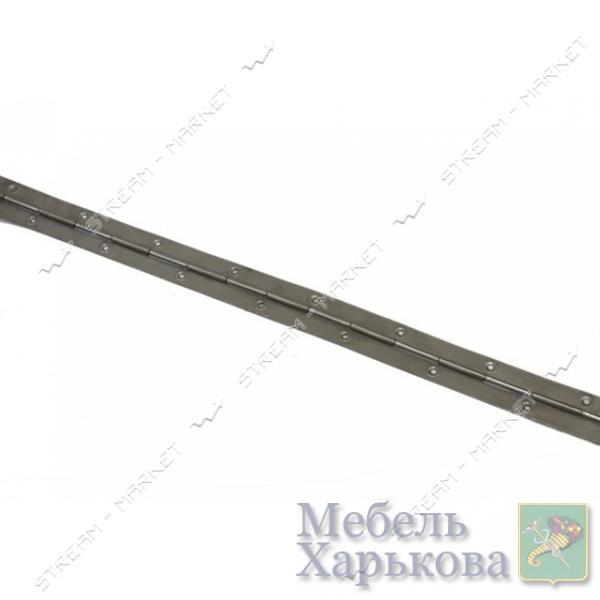 Петля рояльная L=100 см - Петли мебельные в Харькове