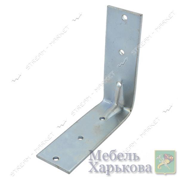 Уголок крепежный 90х90х30х2мм - Мебельные стяжки и уголки в Харькове