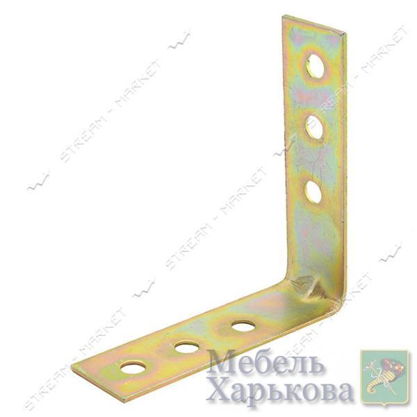 Уголок крепежный 100х100х30х2мм - Мебельные стяжки и уголки в Харькове