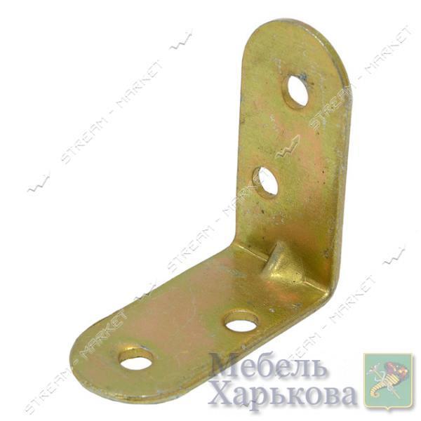 Уголок крепежный 35х35х18х1, 3мм - Мебельные стяжки и уголки в Харькове