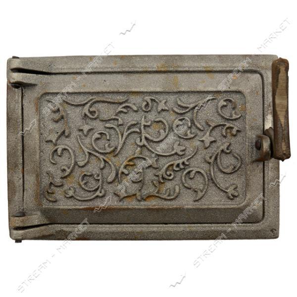 Дверца поддувальная Татарка чугунная 21 см х 14 см