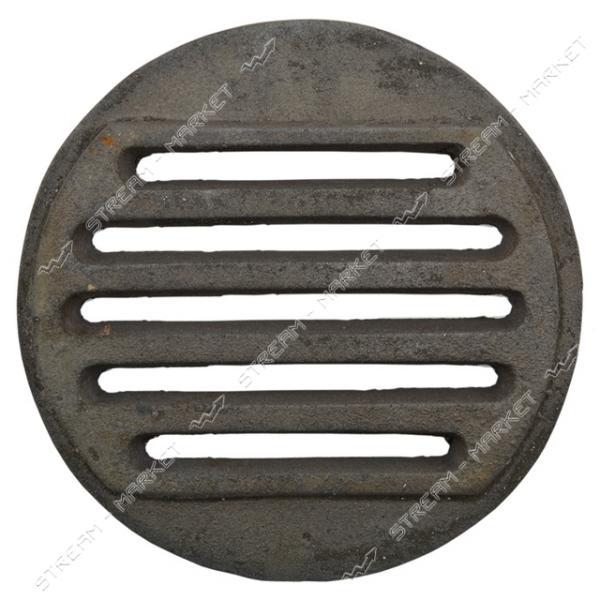 Колосник решетка чугунная круглая 300 мм