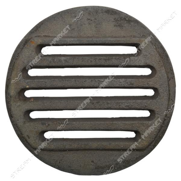 Колосник решетка чугунная круглая 320 мм