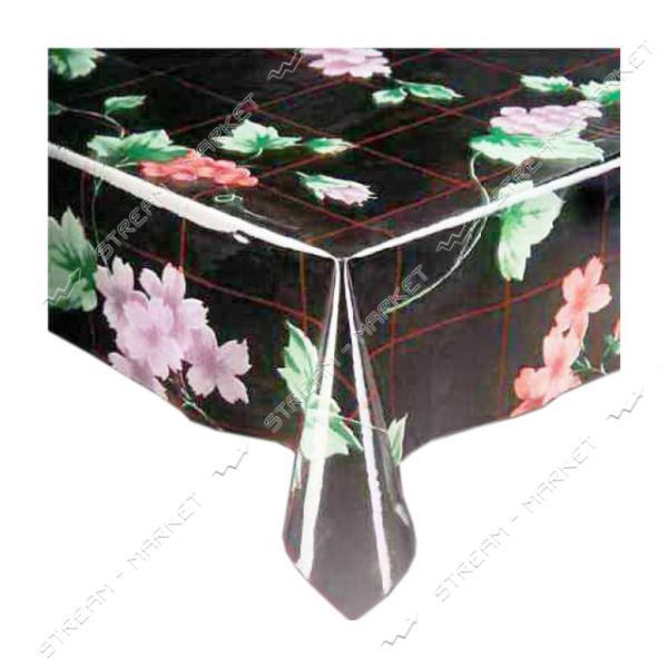 Клеенка для стола силикон Любава Р-0176 1.4х30м Китай