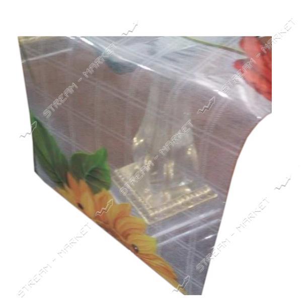 Клеенка для стола силикон Любава Р-0790 1.4х30м Китай