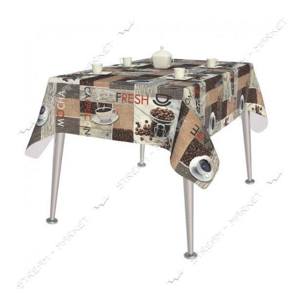 Клеенка для стола MIRELLA 80-A (флизелин. основа) 1.4х20м Турция