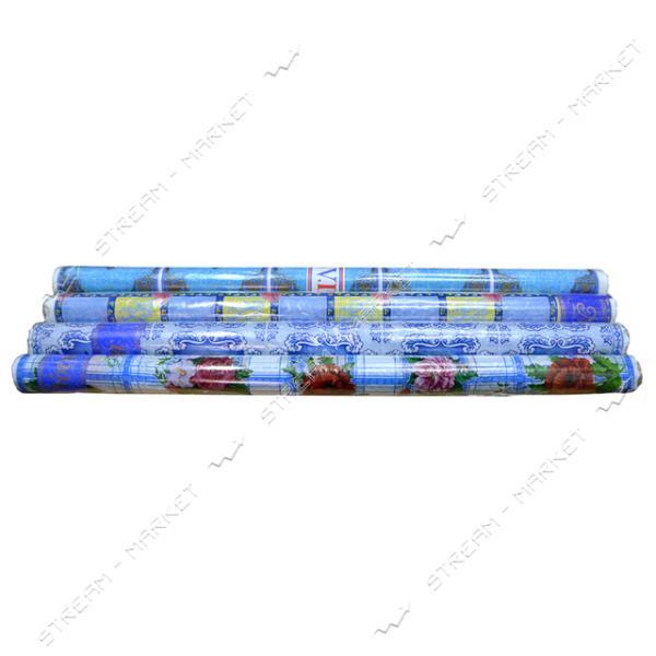 Клеенка для стола голубая 1.2х50м Украина