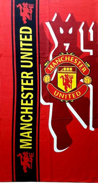 Фото ПОЛОТЕНЦА, Пляжные полотенца Полотенце пляжное Manchester United