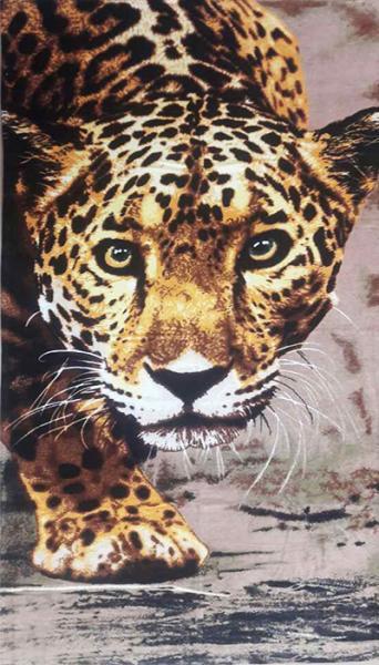 Фото ПОЛОТЕНЦА, Пляжные полотенца Полотенце пляжное Леопард