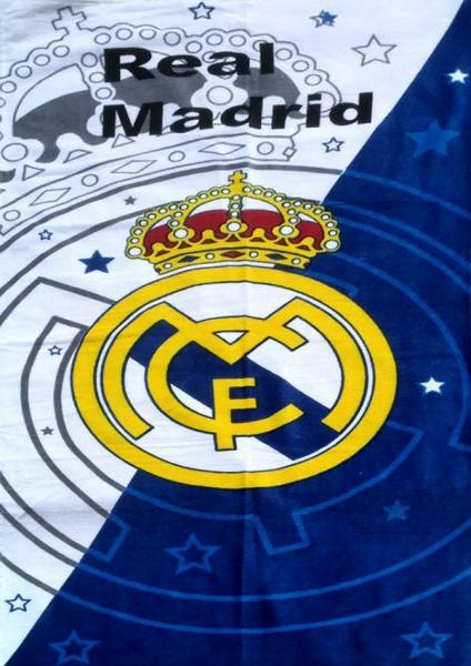 Полотенце пляжное FC Real Madrid 2