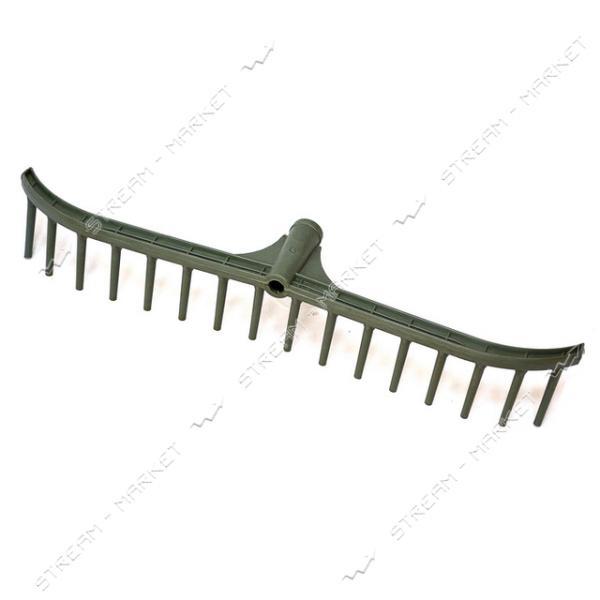 Грабли пластмасовые малые 16 зубов длина 56 см (кратно 10шт)