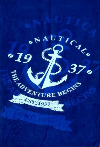 Фото ПОЛОТЕНЦА, Пляжные полотенца Полотенце пляжное Nautical 2