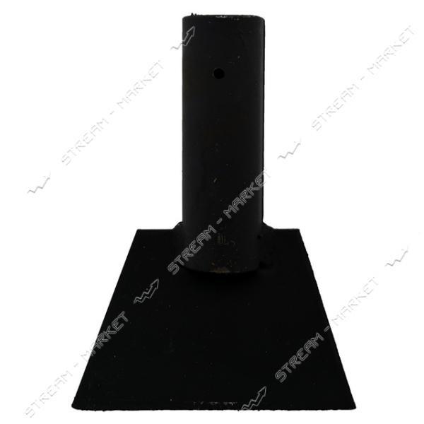 Ледоруб усиленный стальной 150 мм без черенка толщ. метала 5 мм. ( под черенок д. 40 мм.)