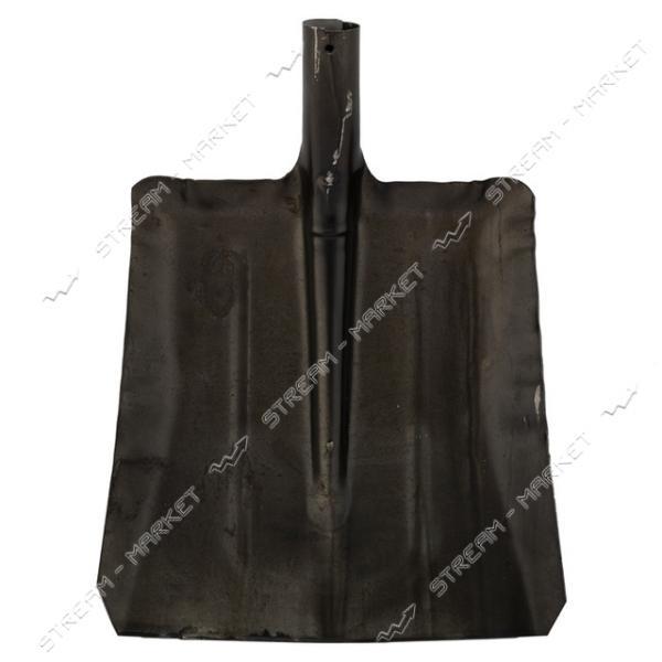 Лопата для снега 'Шахтерка' (крашеная черная) 33х34