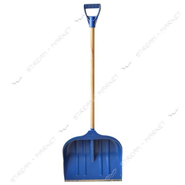 Лопата снеговая АВС большая синяя