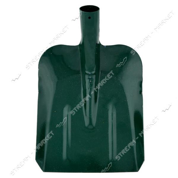 Лопата совковая зеленая без черенка (толщина 1, 5 мм.)