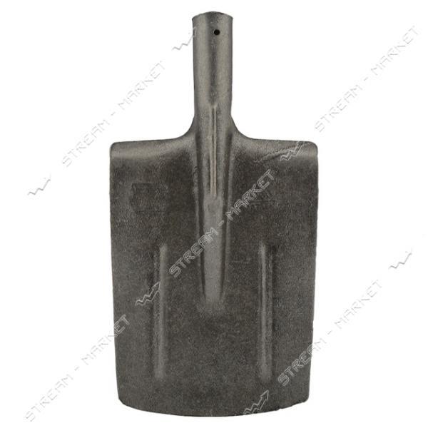 Лопата штыковая прямая МАТиК рельсовая сталь