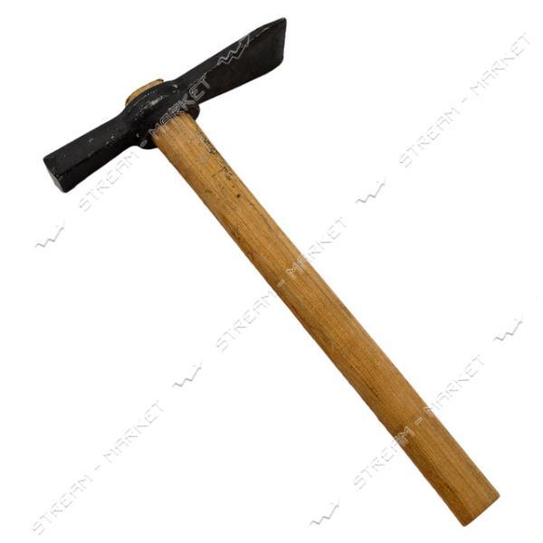 Кирка каменщика с ручкой Токмак
