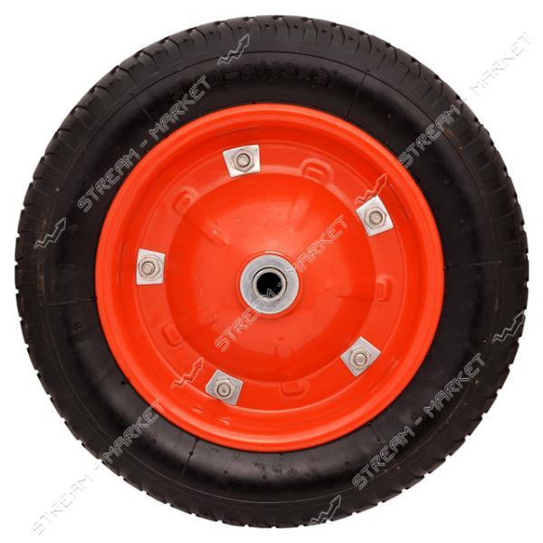 Колеcо на тачку 3.0-8 (ширина резины 3, 0 дюйма, диска 8 внутр. d16)