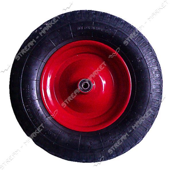 Колеcо на тачку 4.0-6 (ширина резины 4, 0 дюйма, диска 6 внутр. d20)