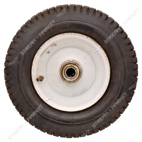 Колеcо на тачку 5.0-6 (ширина резины 5, 0 дюйма, диска 6 внутр. d20)
