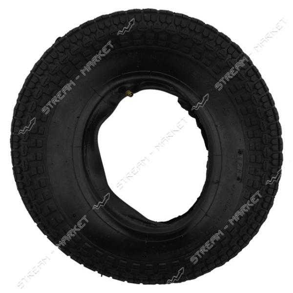 Покрышка (с камерой) на колесо 3.5-8 (8-ми слойная)