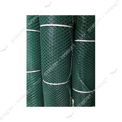Сетка пластиковая Птичка ячейка 12х14мм 2х100м зеленая