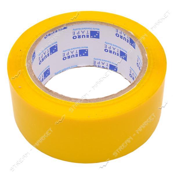 Скотч желтый 48мм 100м