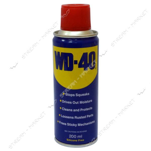 Смазка-спрей WD-40 оригинал Англия 200мл