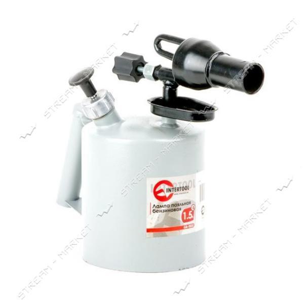 INTERTOOL GB-0032 Лампа паяльная бензиновая 1.5л