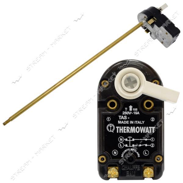 TW TAS 15AR - Термостат 15A, c тепловой защитой(83С), max темпер-ра рег-ки 70С, L-300 мм (флажок)
