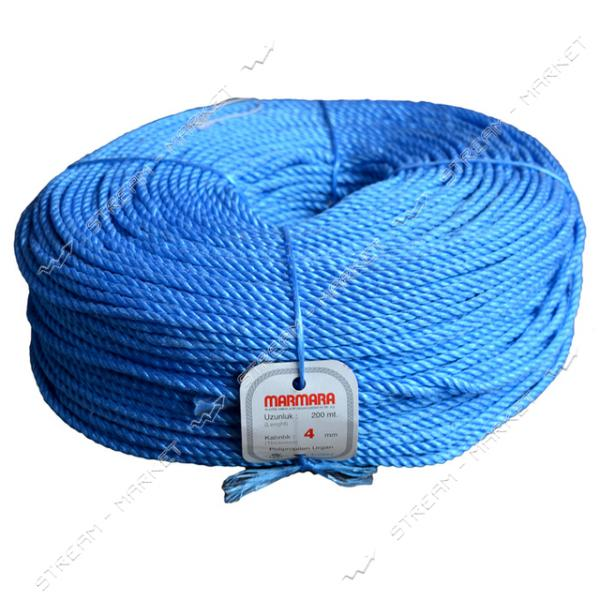 Веревка Мармара d4.0мм 200м цветная