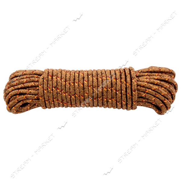 Веревка полипропиленовое плетение d5мм 15м