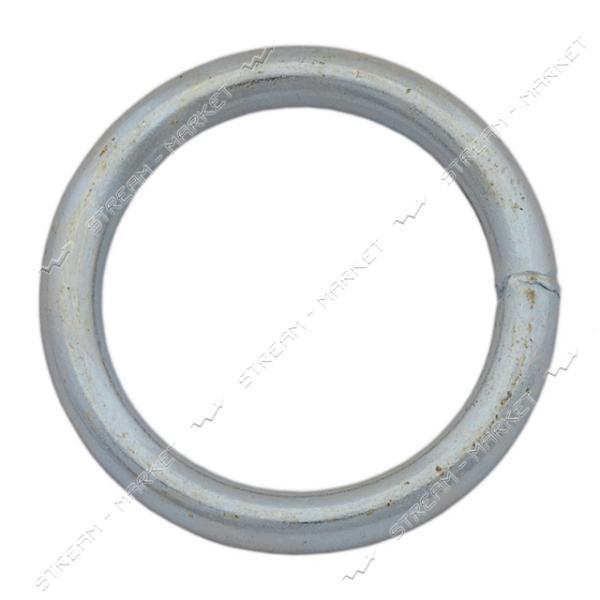 Кольцо сварное 6х40мм оцинкованное