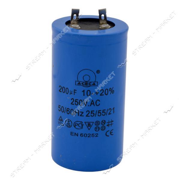 Пусковой конденсатор 200 мкФ напр.330 V