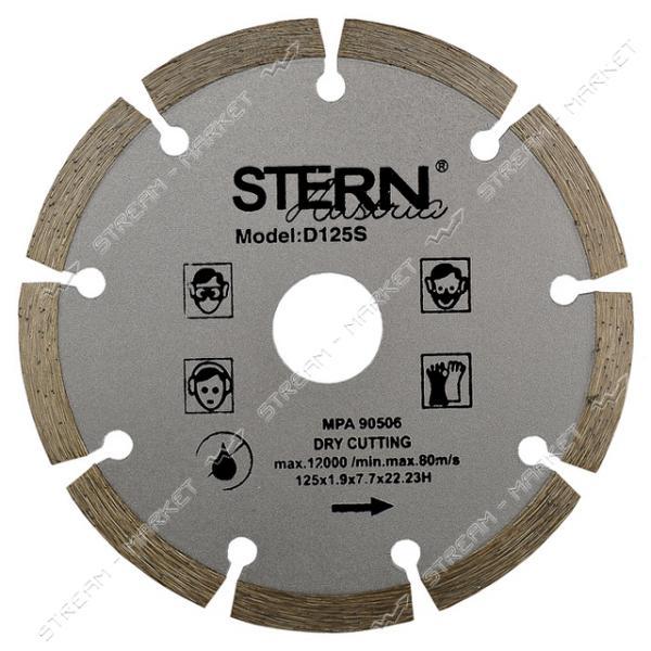 Круг алмазный STERN сегмент 115х22.2