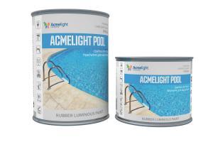 Acmelight Pool - светящаяся краска для бассейнов (0,75; 1,5 л)
