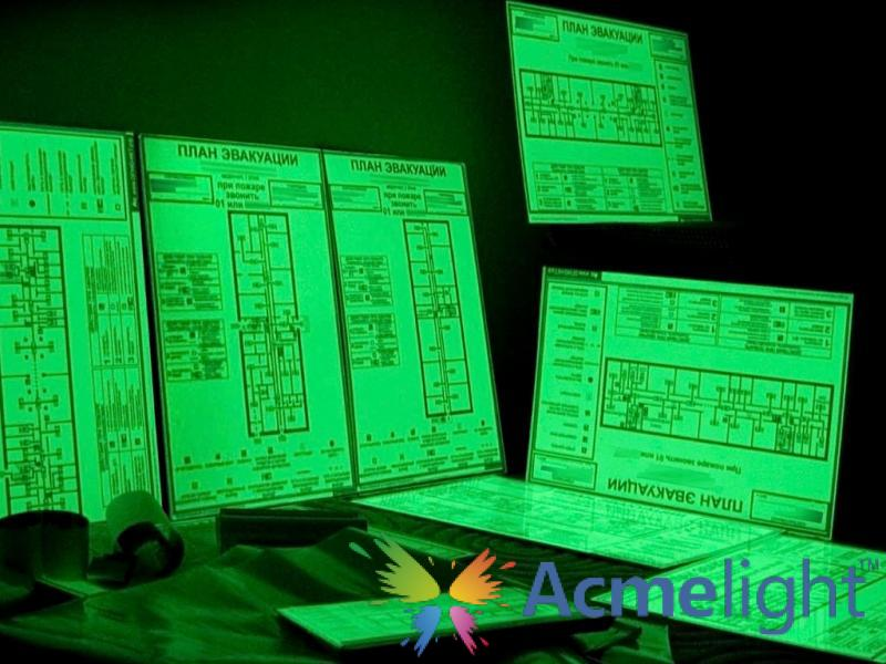Фото  Планы эвакуации фотолюминесцентные