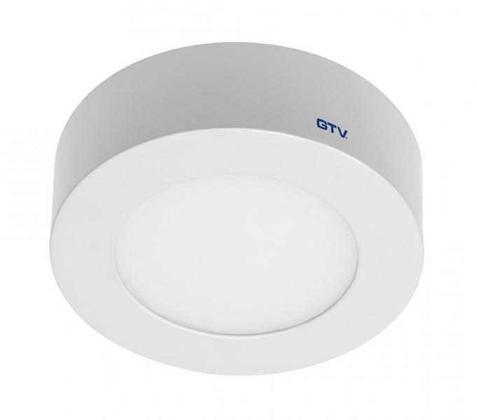 Светодиодный LED светильник GTV Poland , 7W, 3000К, круглый, накладной, IP20, ORIS.