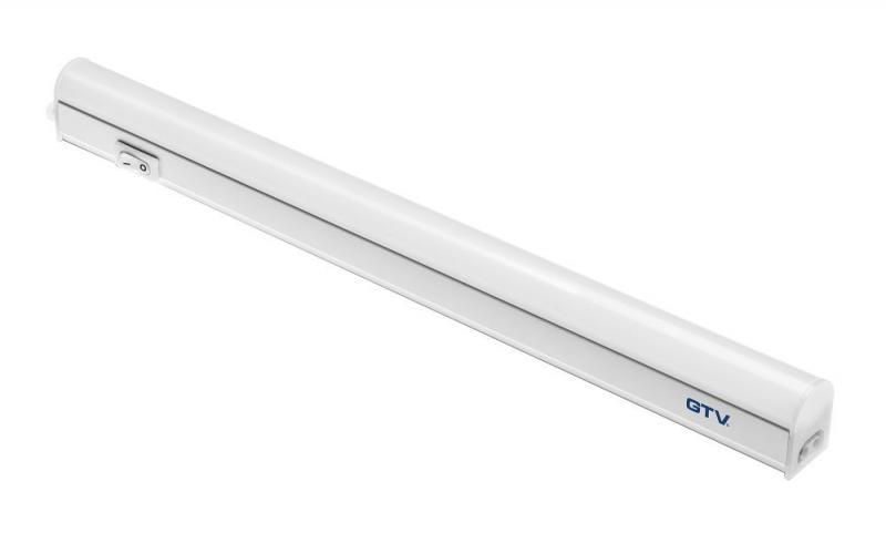 Светодиодный LED светильник GTV Poland 5W, 305мм, накладной, с выключателем, 4000К, IP40, OPD